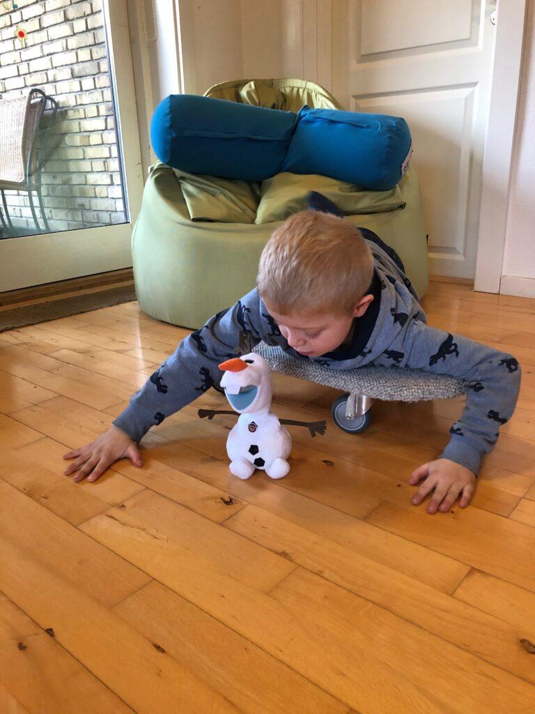 Dreng og Olaf fra Frost